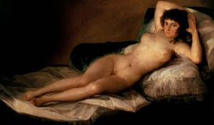 Francisco Goya: Maja desnuda, 1800
