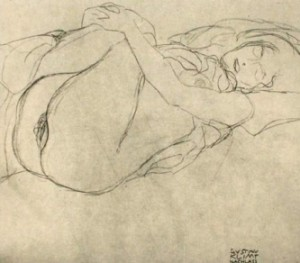 Studie zu Danae, 1907